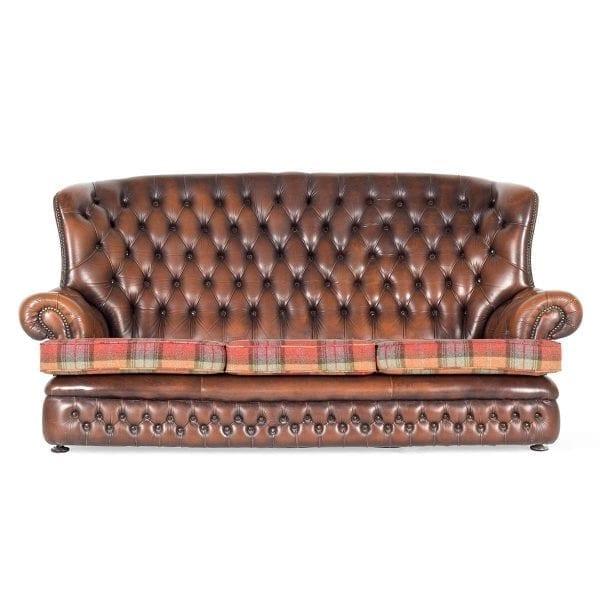 Sofá original Chesterfield.