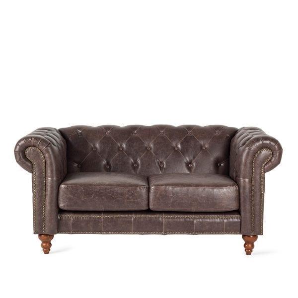 Sofá de estilo vintage.
