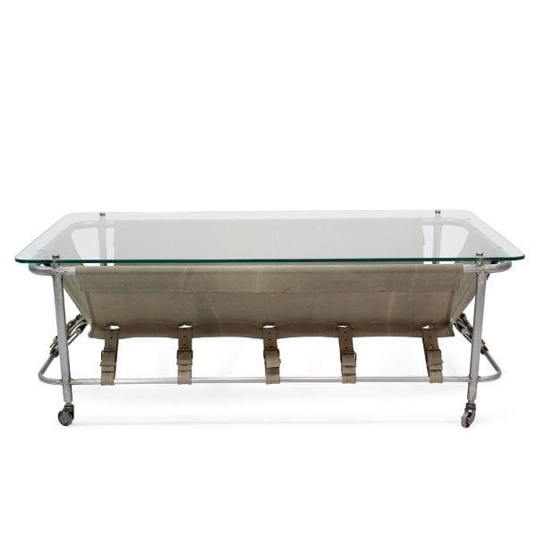 Table basse pour espaces professionnels.