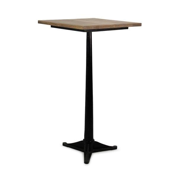 Gisela Asia. Table carrée pour bar ou cafétéria.