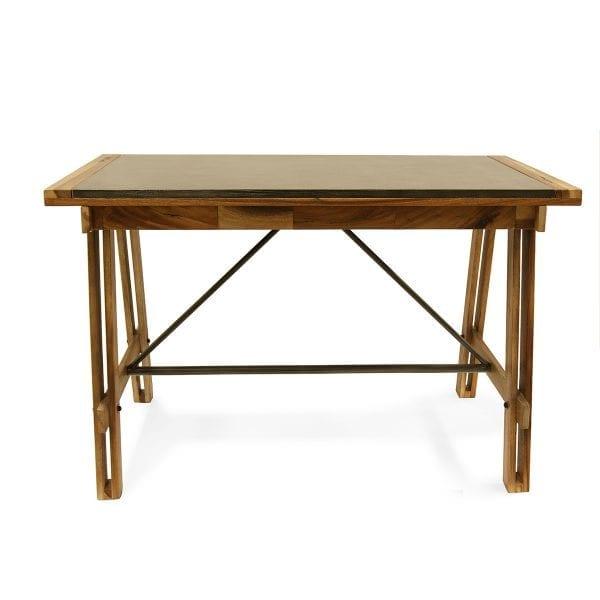 Photo. Table style vintage nature pour hôtellerie.