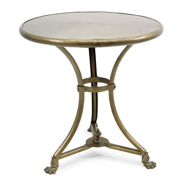 Tables industrielles pour restaurants.