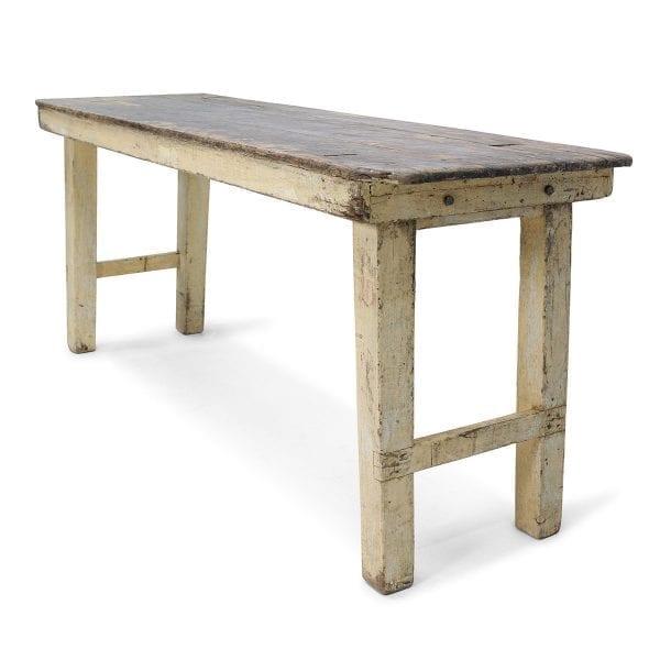 Mesa antigua marrón de la fima de muebles FS