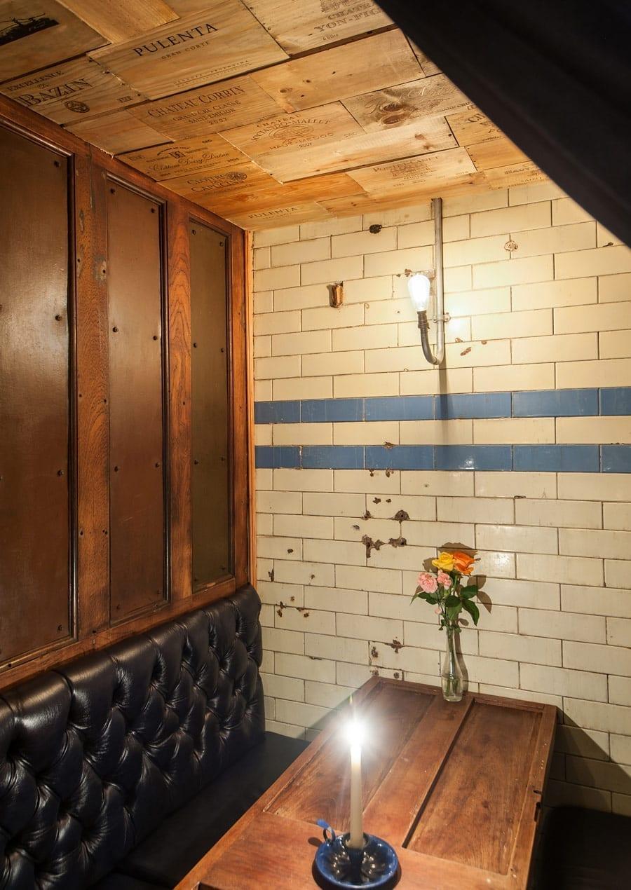Aménagement et conception intérieur de restaurant moderne.
