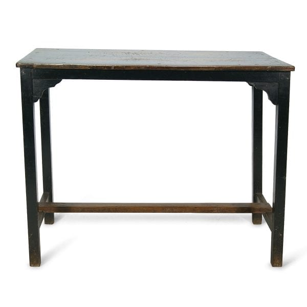 Ancienne table vintage pour petits commerces.