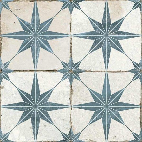 FS STAR BLUE. Baldosas hidráulicas imitación.