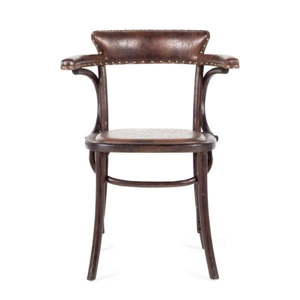 Chaises vintage pour cafeteria.