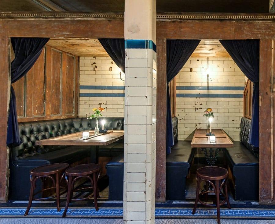 Concept et idée de restaurant insolite.