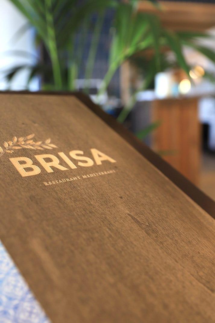 Concept de restaurant Brisa.