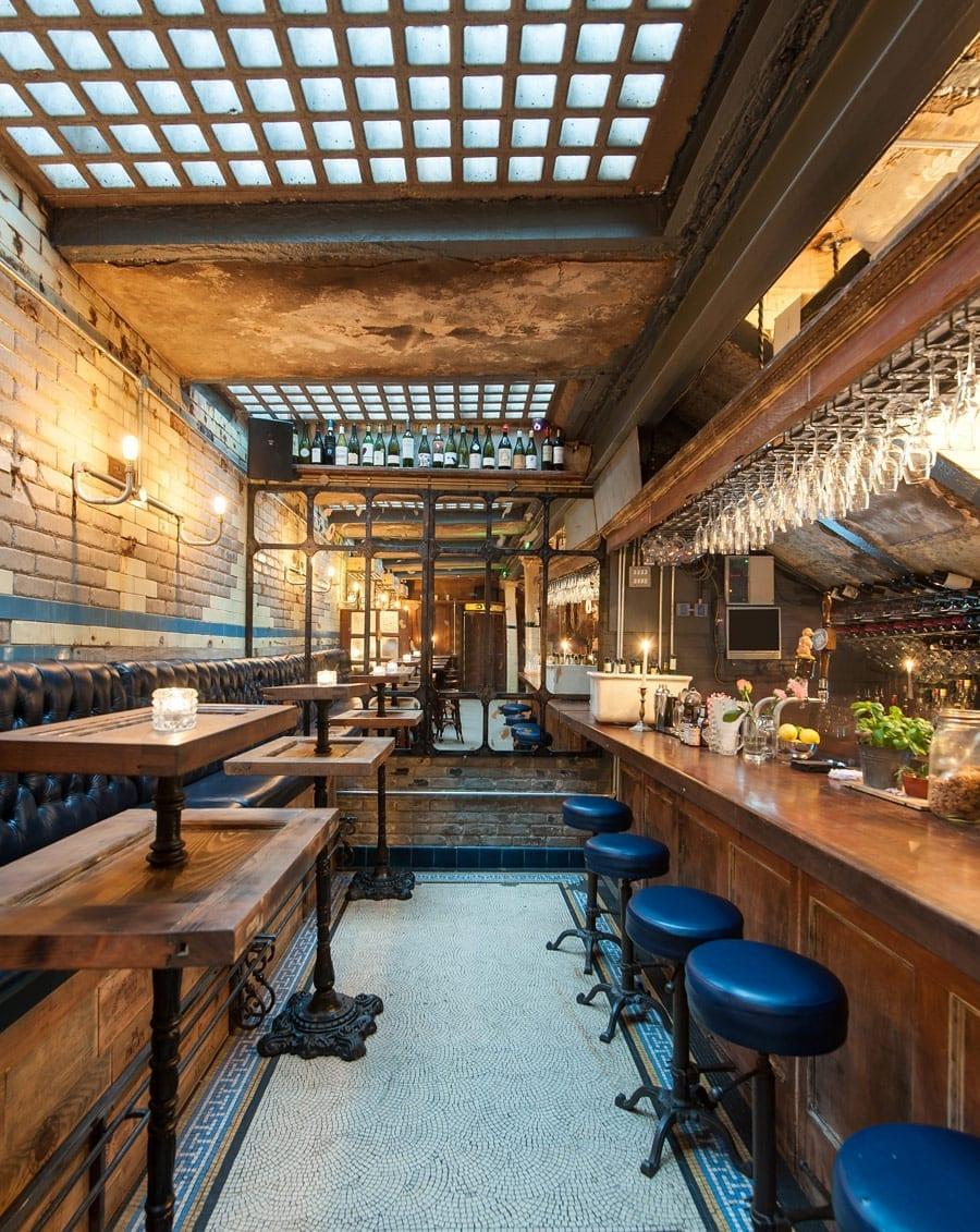 Conception et aménagement de restaurant original.