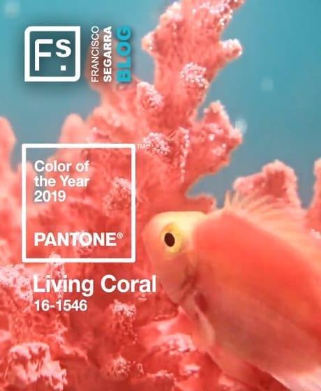 Living Coral, couleur déco Pantone.
