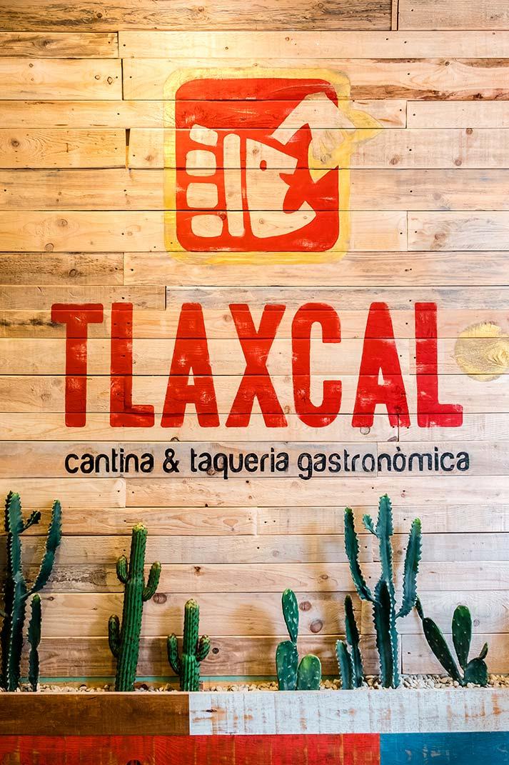 Décoration et aménagement de restaurant mexicain.