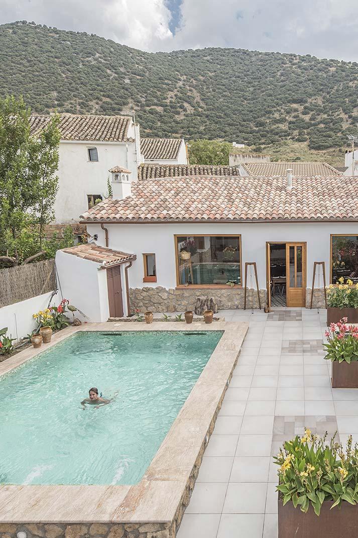 Diseñando un encantador alojamiento rural. Casa Manuel de La Capilla.