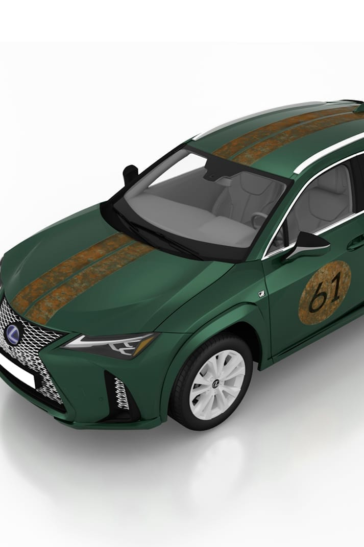Bólido 61. La candidatura de Francisco Segarra para Lexus.