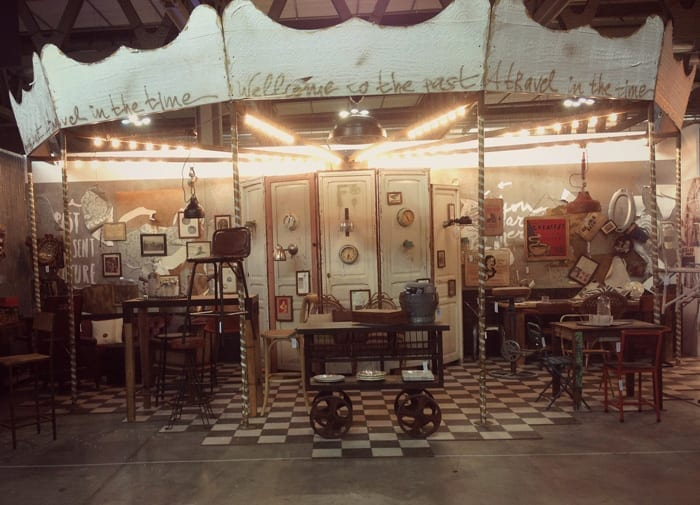 Imagen del stand de la firma Francisco Segarra en Host 2013