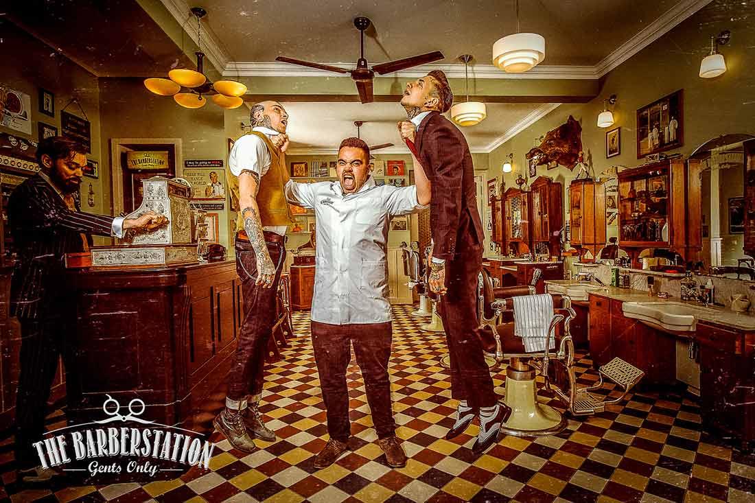 Francisco Segarra tendances decoration barbershop.