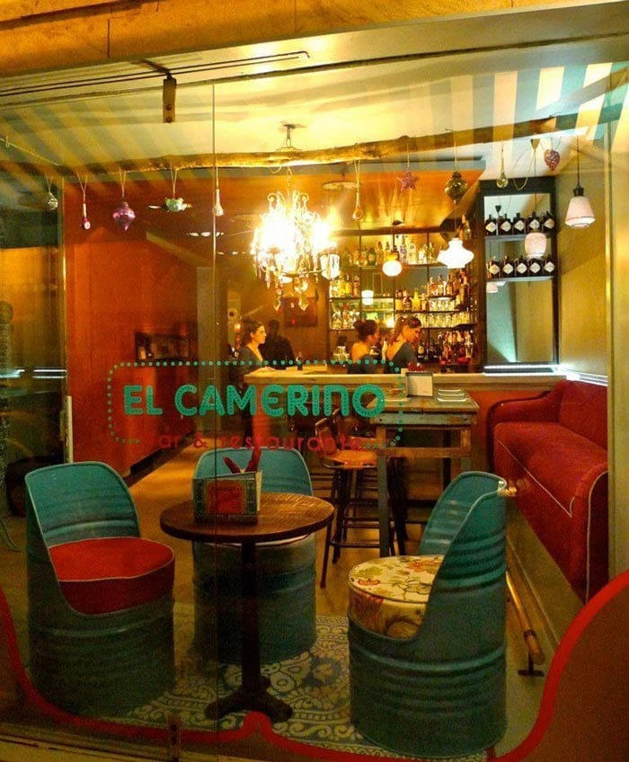 Fotos del Interiorismo en el restaurante El Camerino
