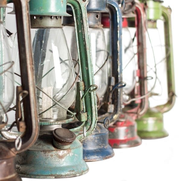 Lanternes décoration de restaurant et bar.
