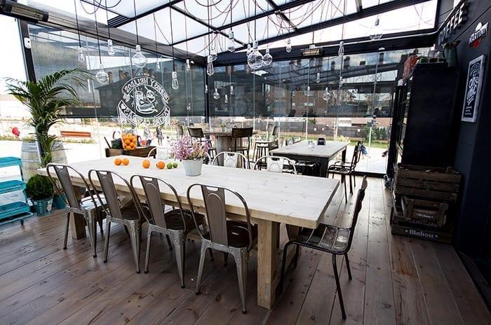 Noticias sobre las mesas y sillas para restaurantes de la firma Francisco Segarra.
