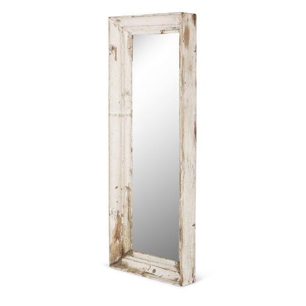Miroir en bois pour petits commerces.