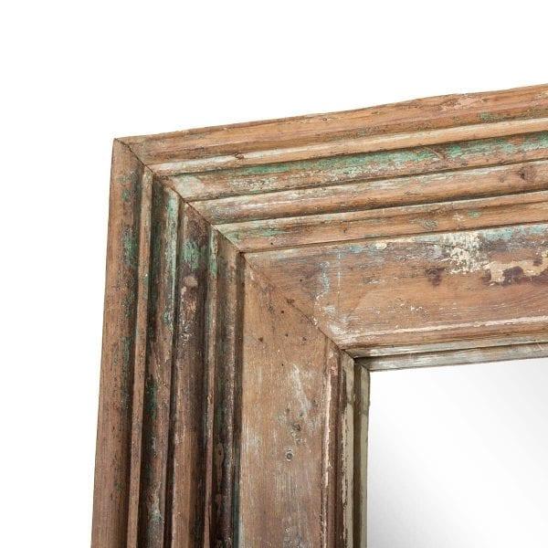 Miroirs décoratifs vintage en bois.