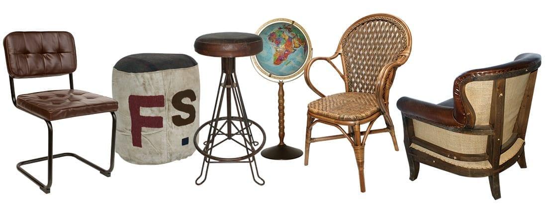 Fotos. Mobiliario vintage profesional de venta online.