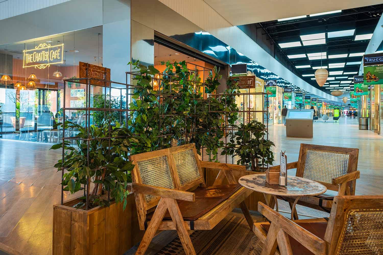 Muebles para diseño de cafeterías en Madrid.