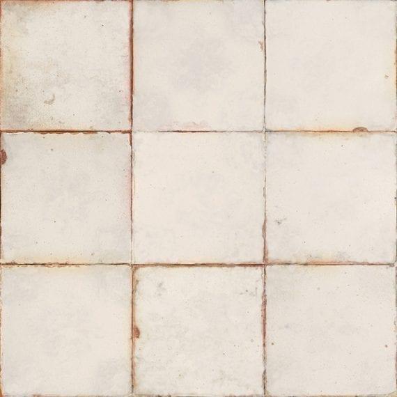 Pavimento y revestimiento de estética tradicional.
