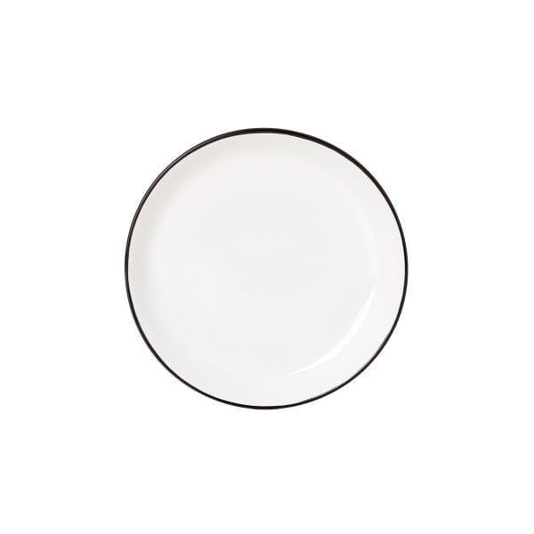 Plato blanco pequeño para hostelería.
