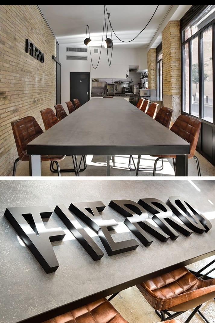 Coper & Porter conçoivent le nouvel espace gastronomique, Fierro