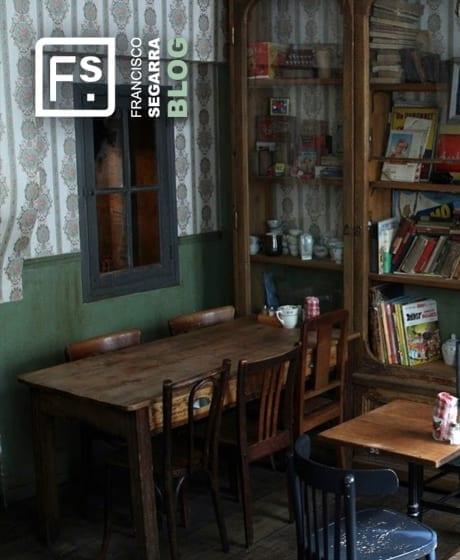 Photo.Projet d'intérieur style vintage pour les bistrots.