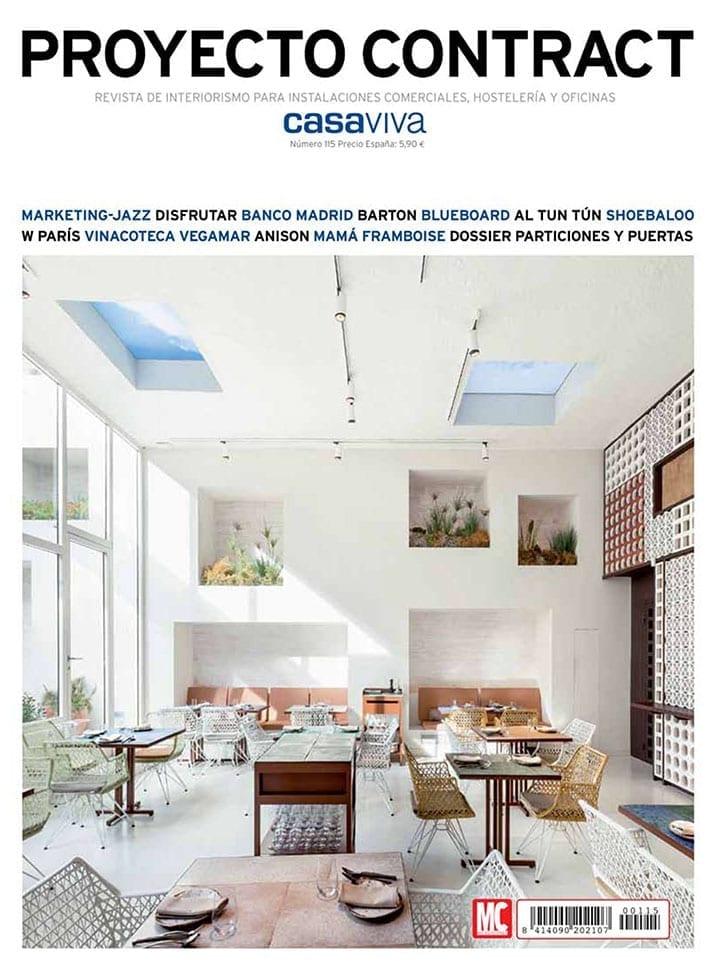 Imágenes de la portada de Proyecto Contract.
