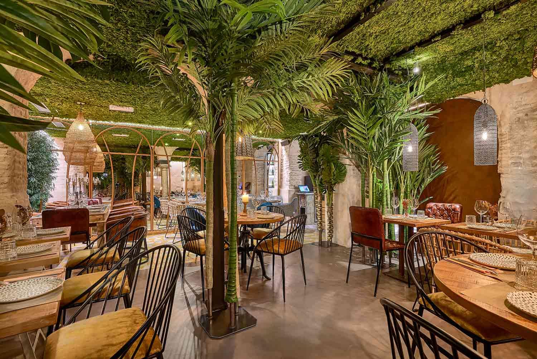 Proyecto Decoración Restaurante Senza Francisco Segarra
