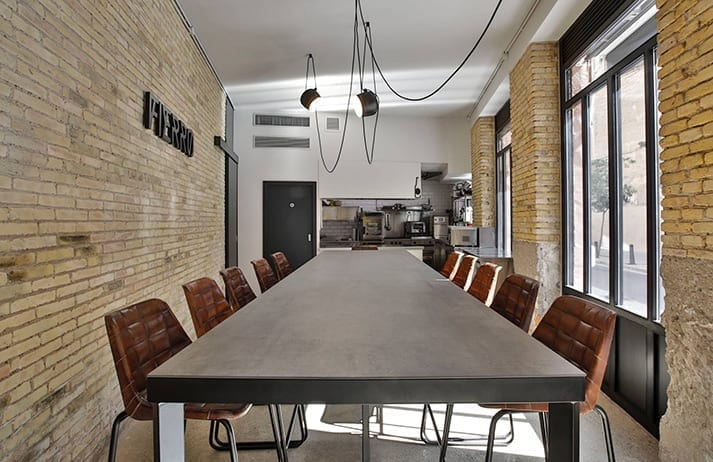 Proyectos interiorismo. Espacios gastronómicos diseñado por Coper & Porter.