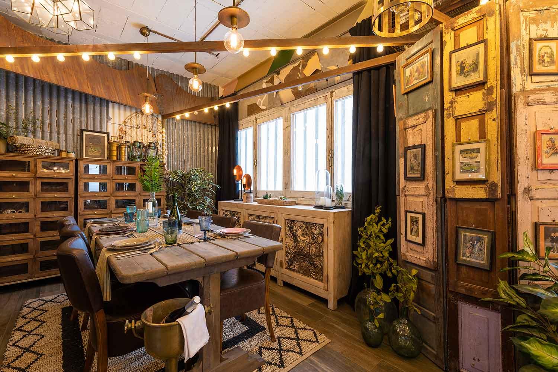 Showroom muebles vintage de Francisco Segarra.