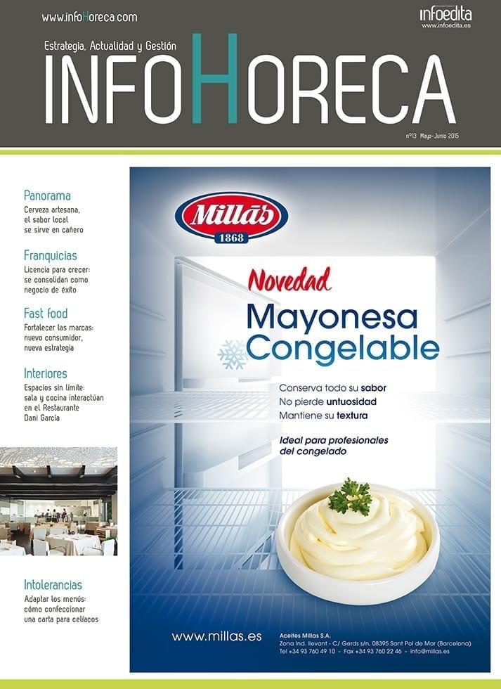 Imagen de la portada de InfoHoreca junio.