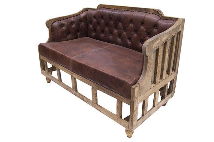 Imagen del sofá de estilo industrial modelo Consort