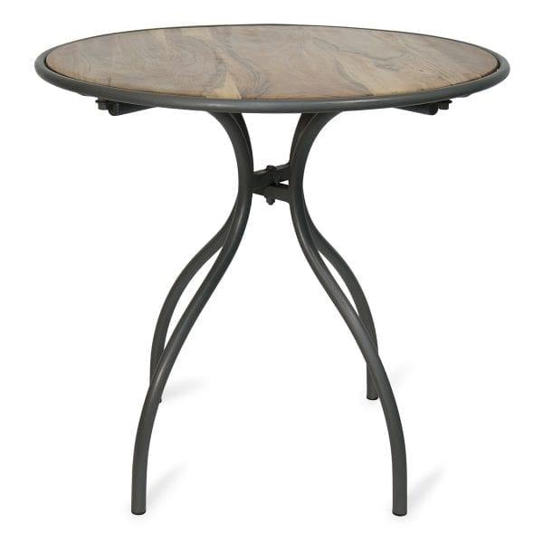 Table de bar ou restaurant en bois.