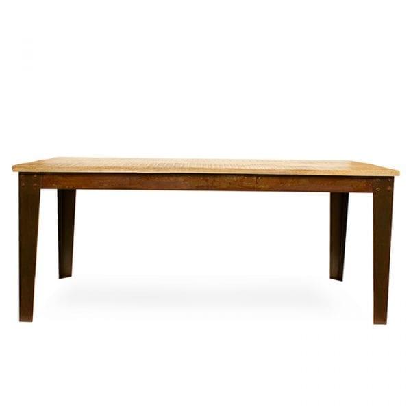 Photo. Table style vintage modèle Otto.