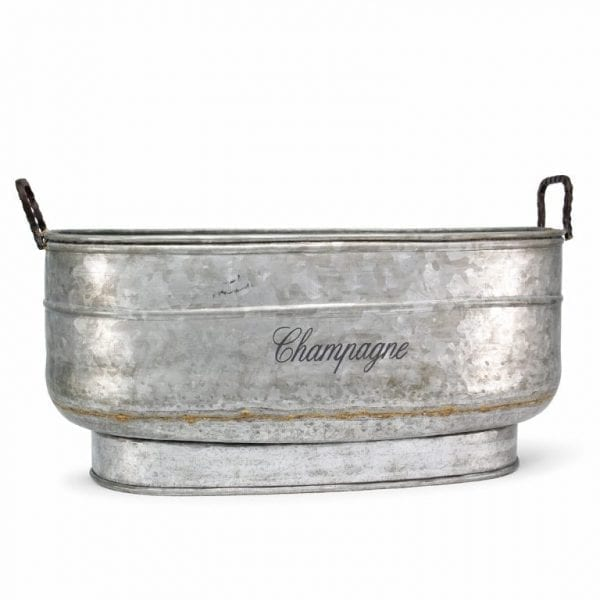 Tableware hostelry. Oval champagne cooler.