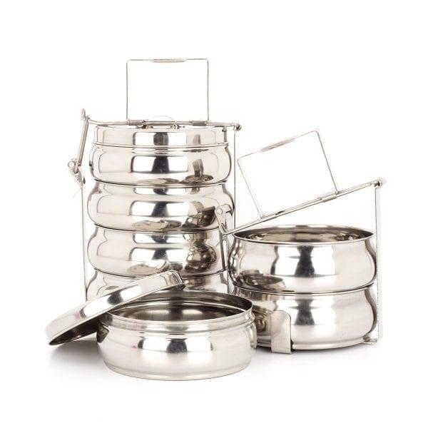 Tiffins pour équipement de restaurant.