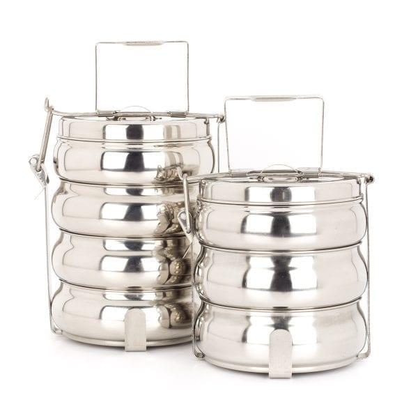 Tiffins para el equipamiento de restaurantes.