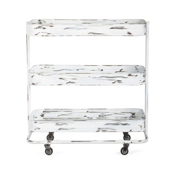 Utility cart for beauty salons.