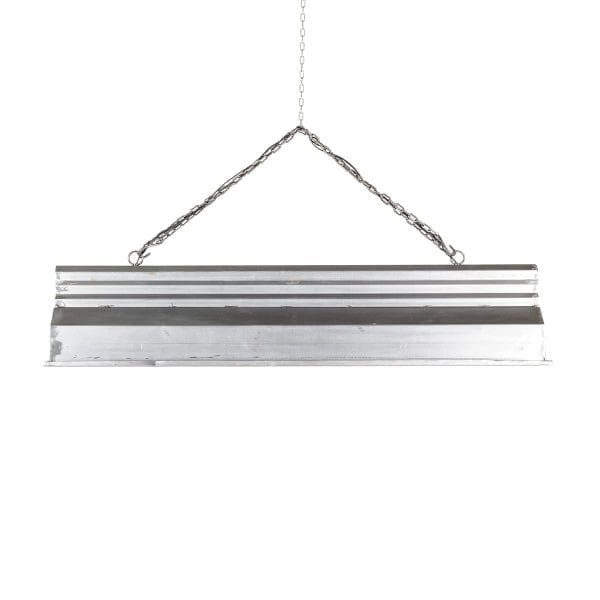 Industrial ceiling lamps.
