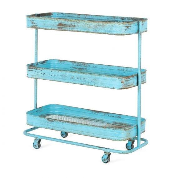 Bar cart for commercial establishments.