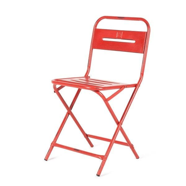 Foldable chair for hospitality.