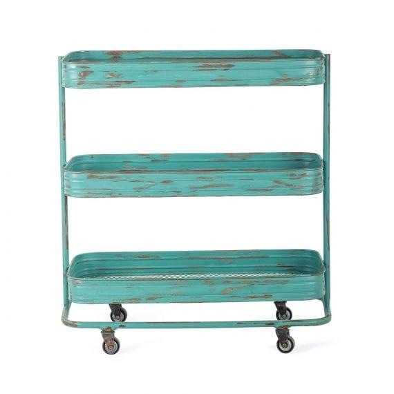 Bar cart for hospitality.