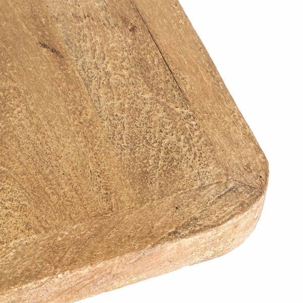 Mesas para cafetería fabricadas en madera de mango.