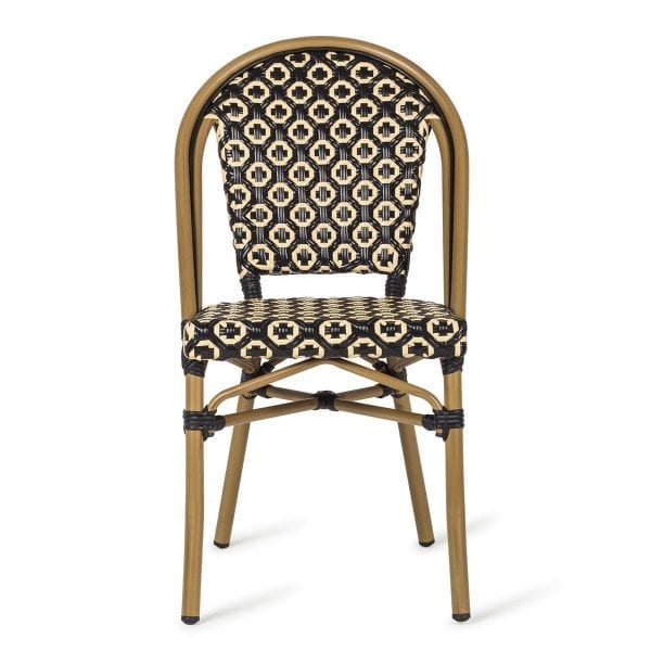 Perfect chairs for open air areas in bars and restaurants.