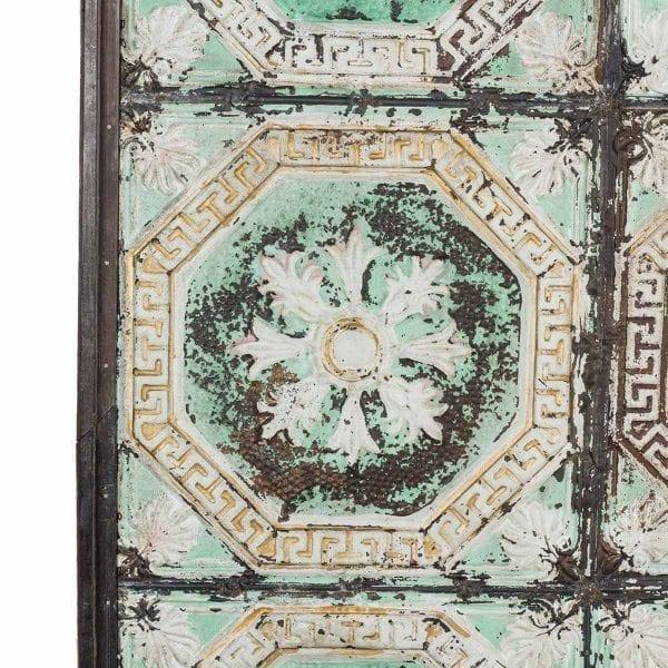 Paneles ornamentales vintage.